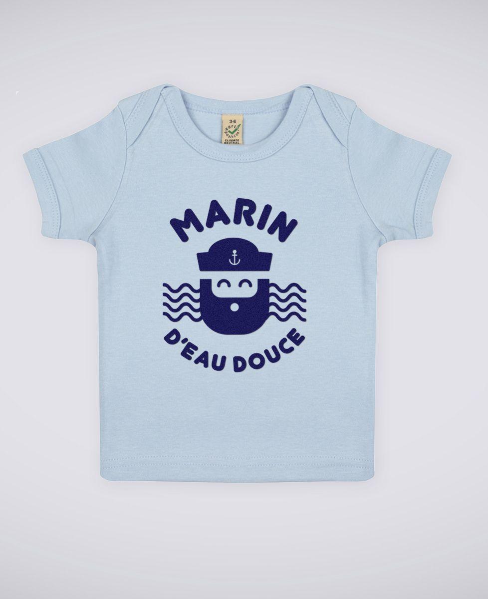T-Shirt bébé Marin d'eau douce