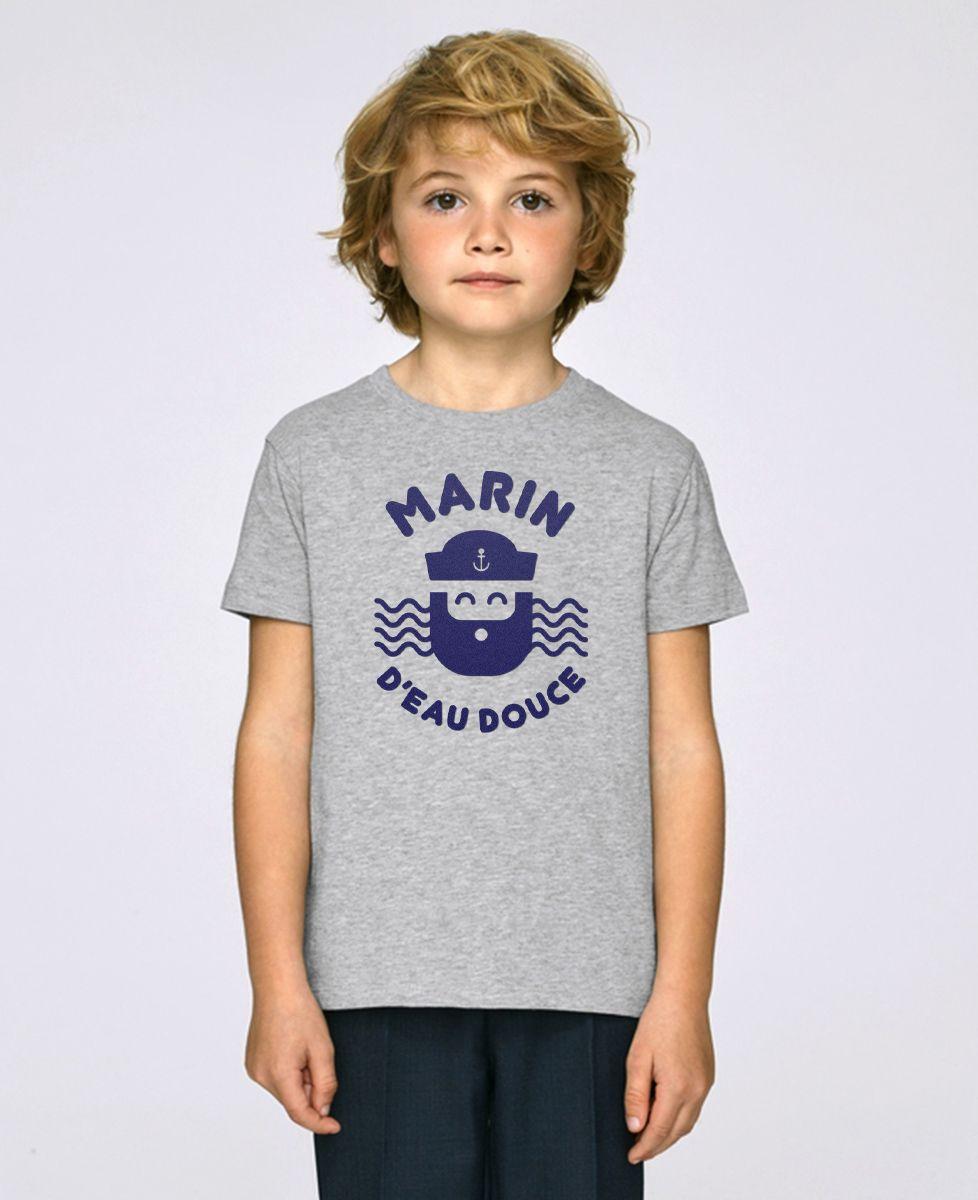 T-Shirt enfant Marin d'eau douce