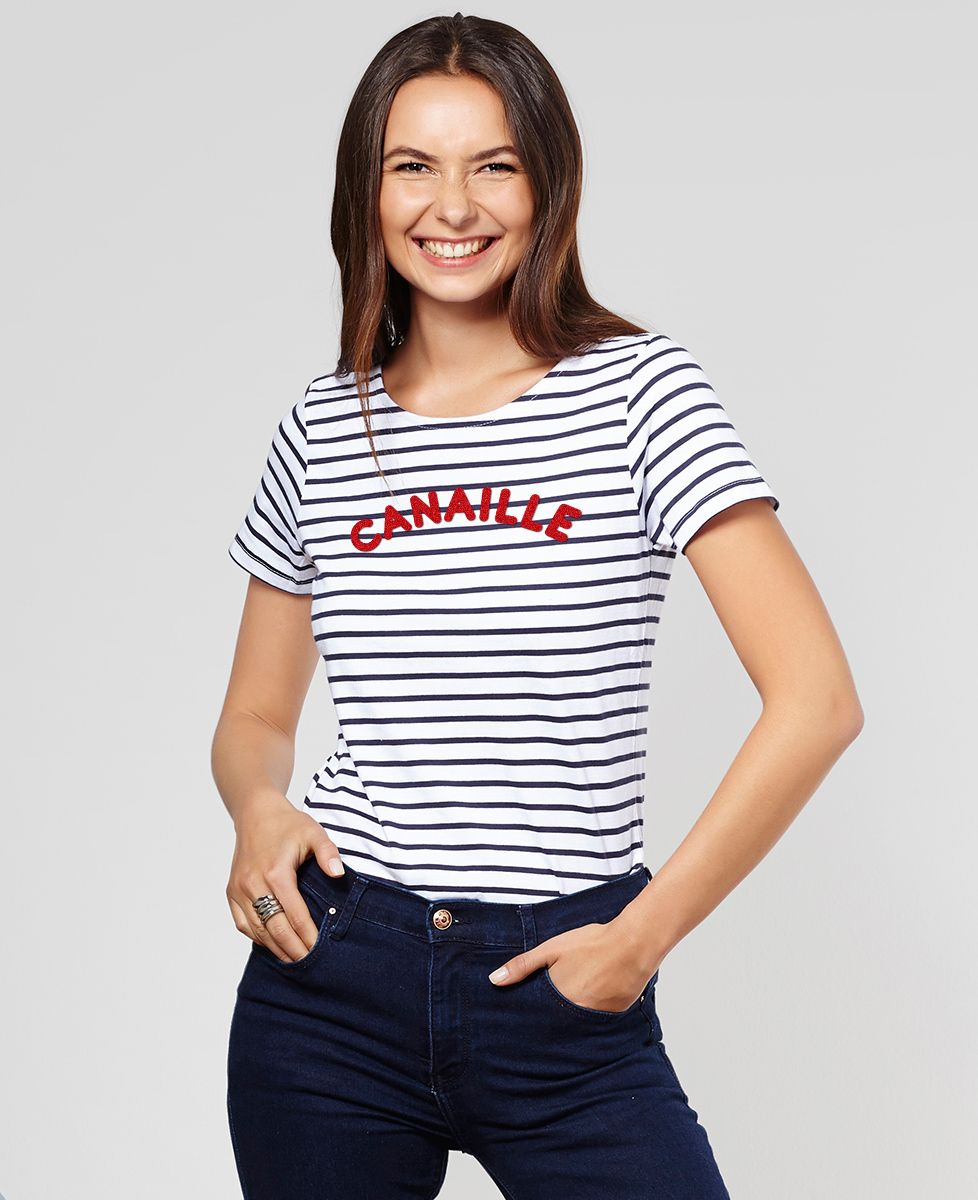 T-Shirt femme Canaille