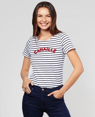 T-Shirt femme Canaille