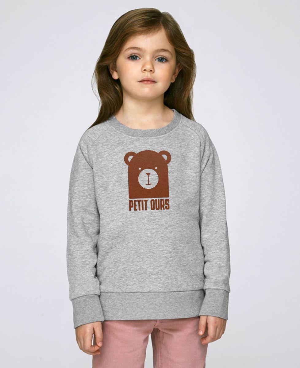 Sweatshirt enfant Petit ours