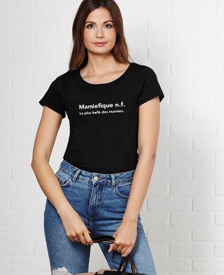 T-Shirt femme Mamiefique