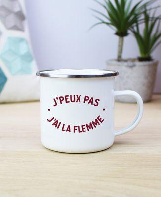 Mug J'peux pas j'ai la flemme