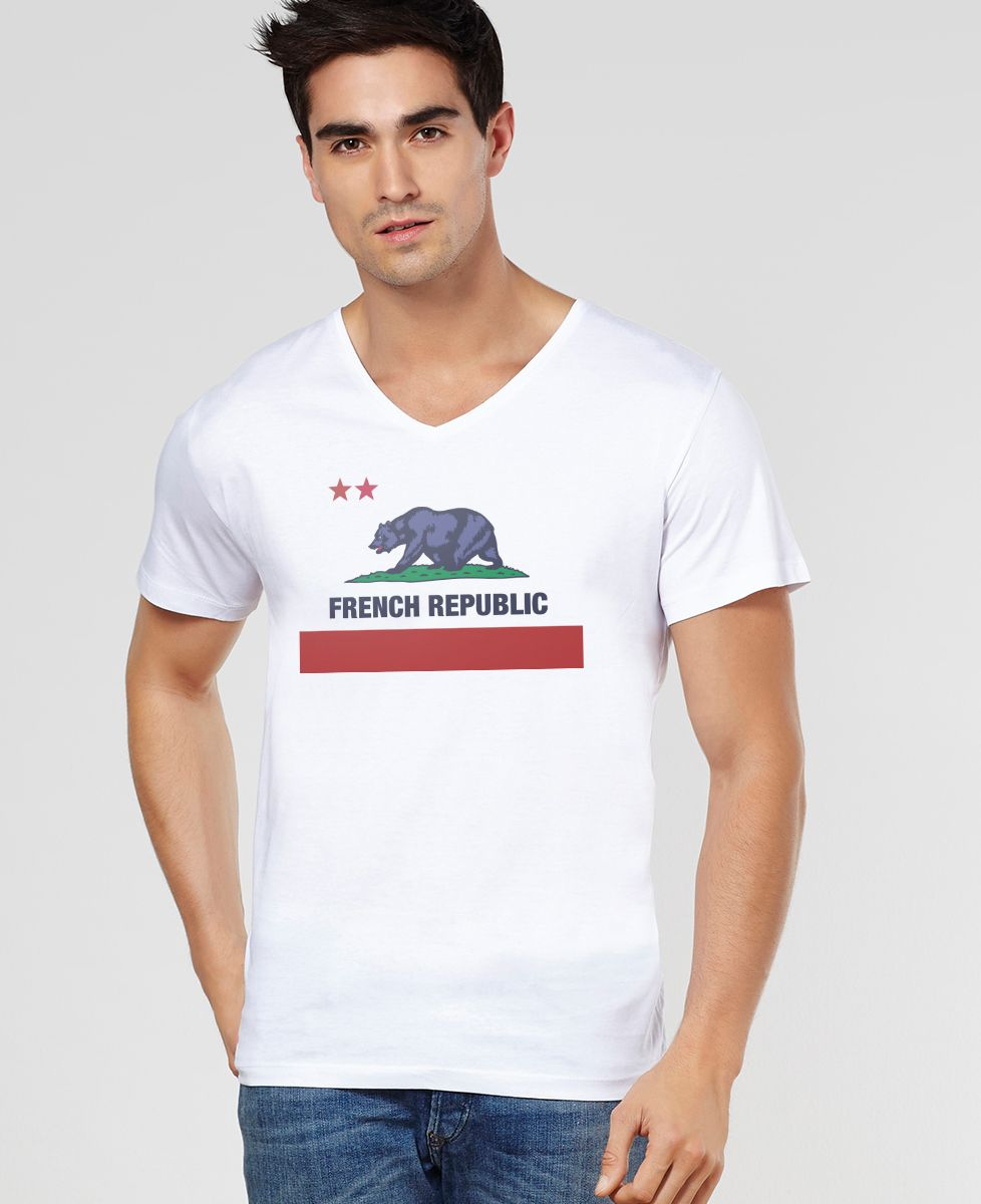 T-Shirt homme French Republic