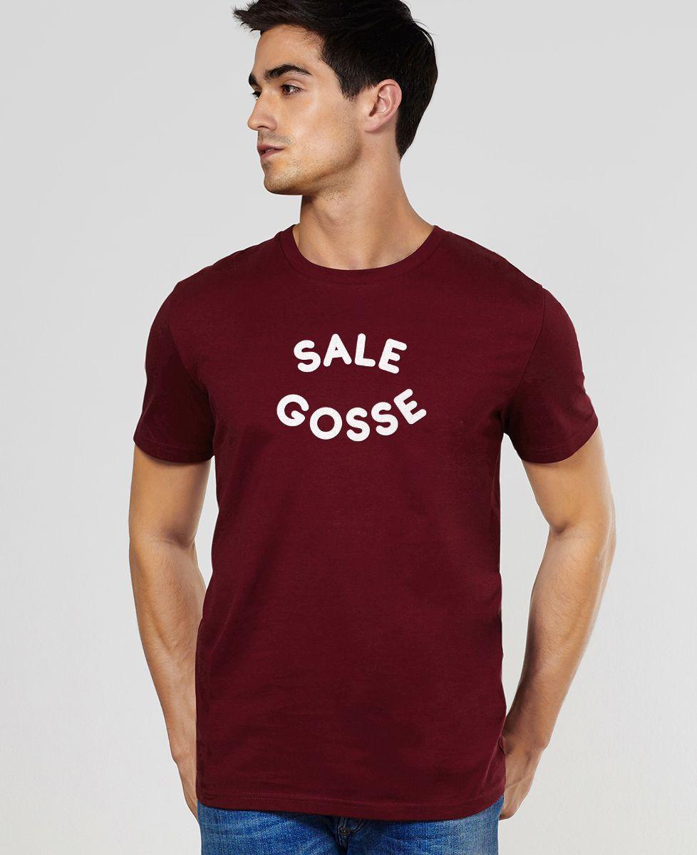 T-Shirt homme Sale gosse (Effet velours)
