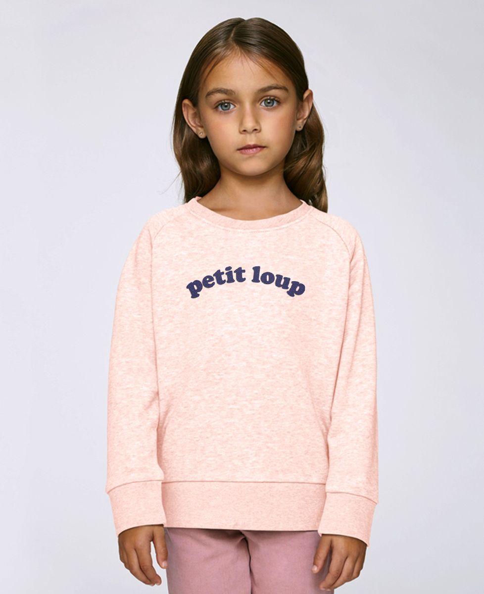 Sweatshirt enfant Petit loup