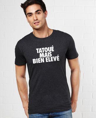 T-Shirt homme Tatoué mais bien élevé