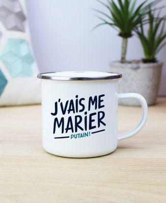 Mug J'vais me marier putain !