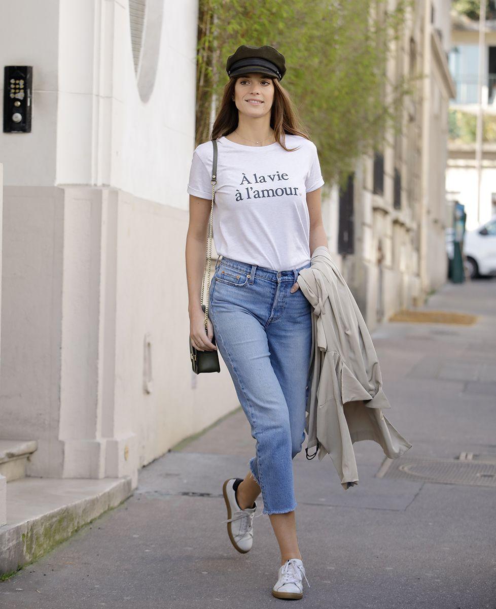 T-Shirt femme À la vie, à l'amour