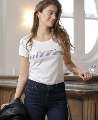T-Shirt femme S'il vous plait