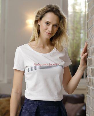 T-Shirt femme Parlez-vous français ?