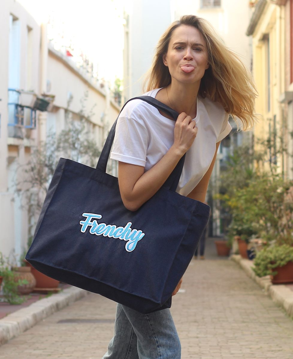 Tote bag Frenchy (Broderie)