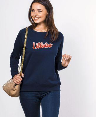 Sweatshirt femme Lilloise (Broderie)