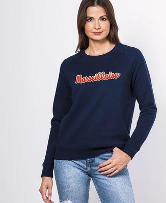 Sweatshirt femme Marseillaise (Broderie)