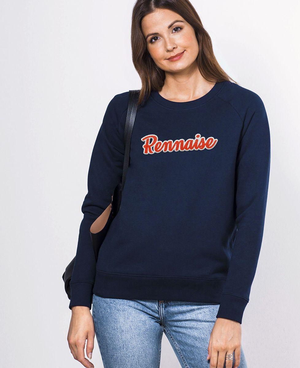 Sweatshirt femme Rennaise (Broderie)