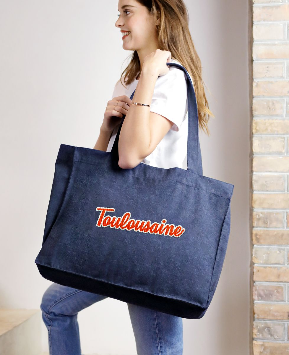 Tote bag Toulousaine (Broderie)