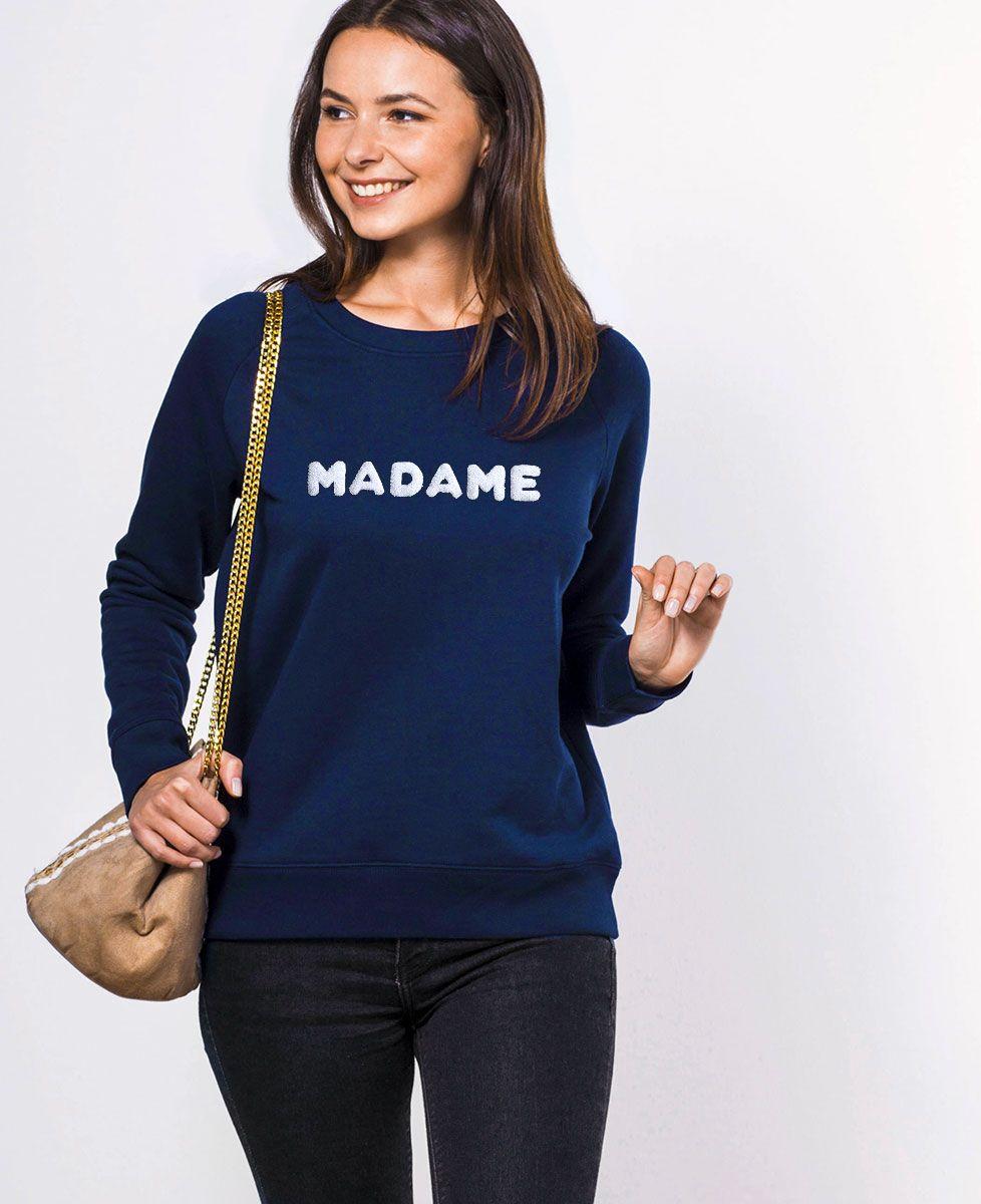 Sweatshirt femme Madame - Bouclette