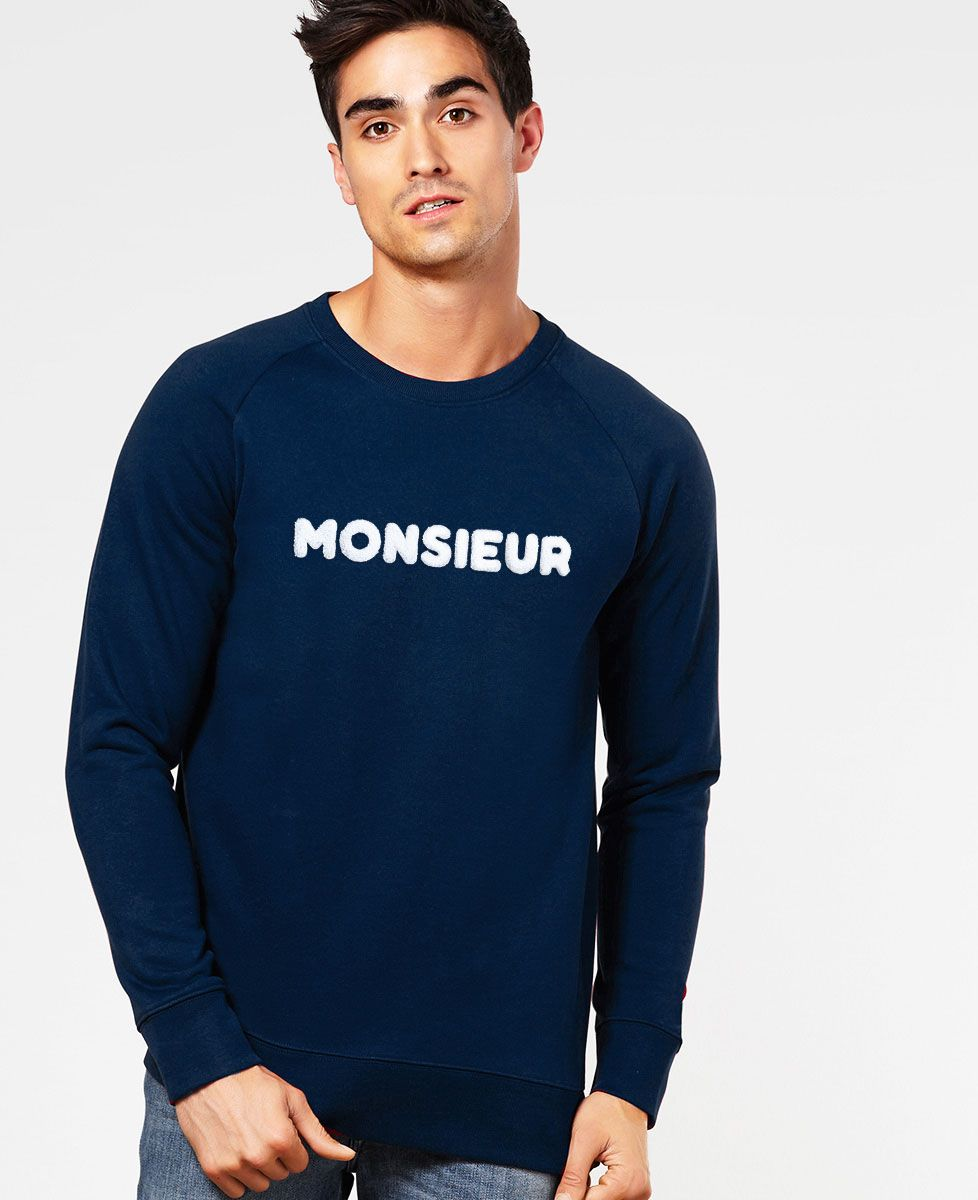 sweat monsieur bouclette monsieur tshirt mode homme. Black Bedroom Furniture Sets. Home Design Ideas