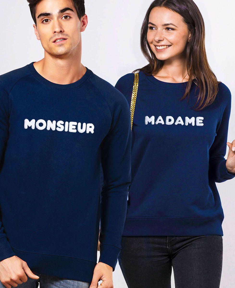 Sweatshirt homme Monsieur - Bouclette