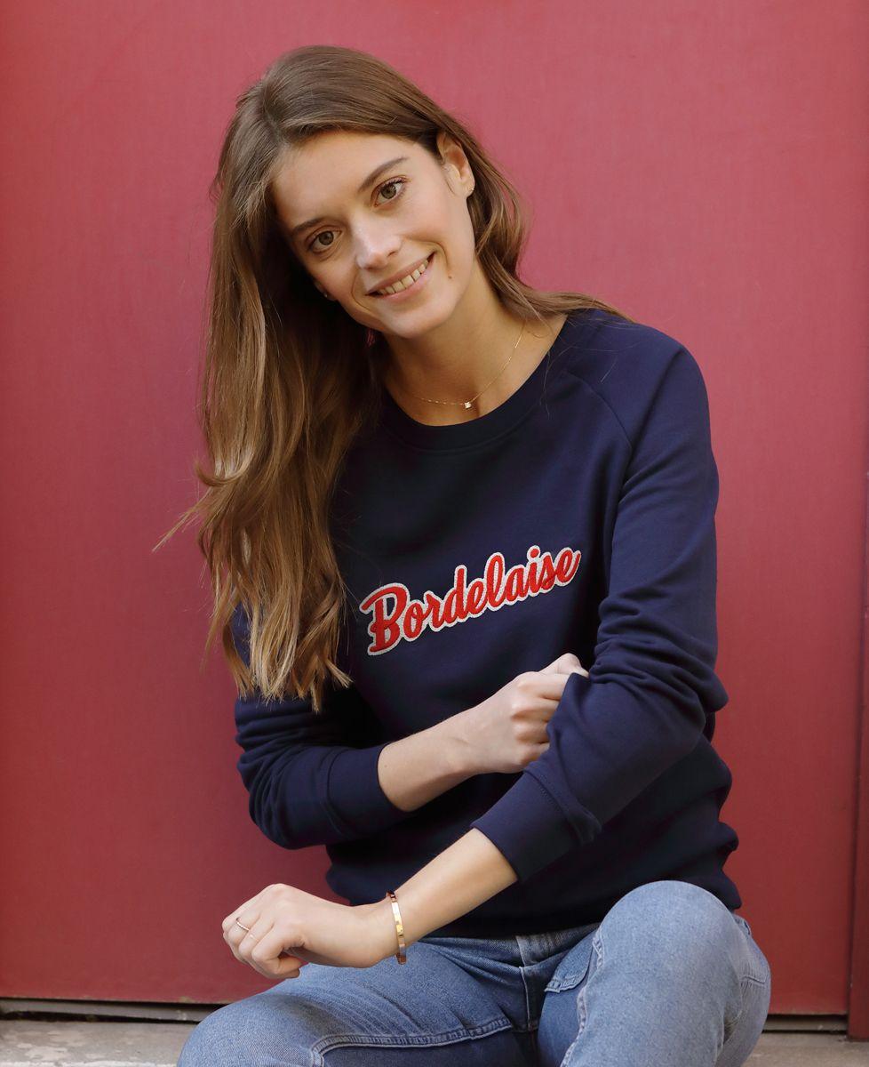 Sweatshirt femme Bordelaise (Broderie)