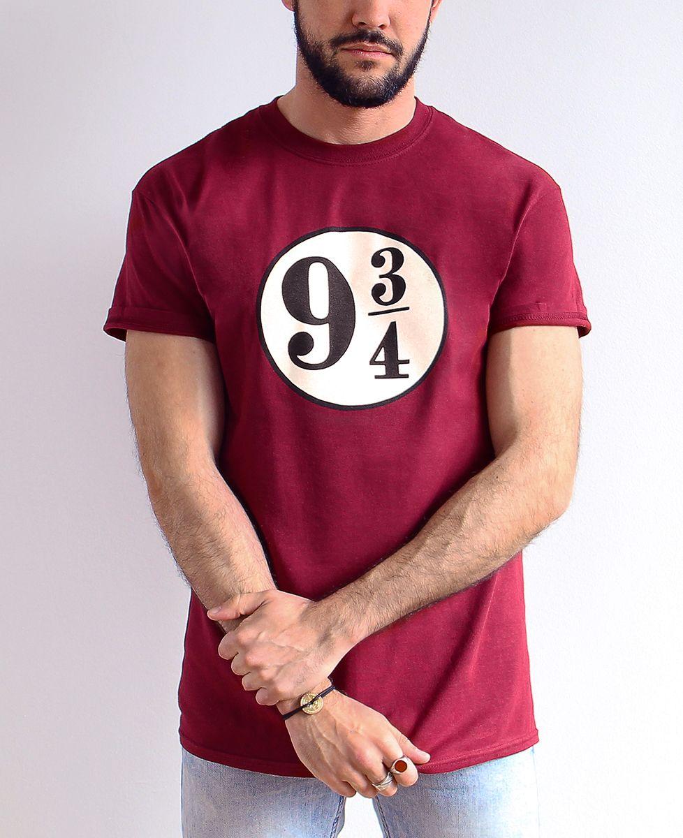 T-Shirt homme Harry Potter voie 9 3/4