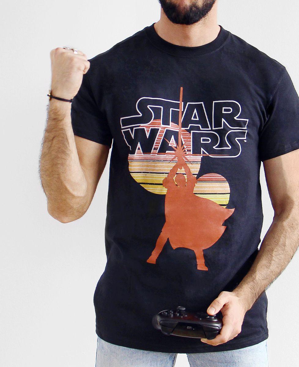 T-Shirt Star Wars Sunset | Monsieur TSHIRT