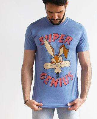 T-Shirt homme Looney Tunes Super Genius
