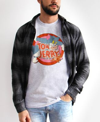 T-Shirt homme Tom & Jerry