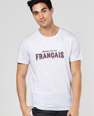 T-Shirt homme Impossible n'est pas français (édition limitée)