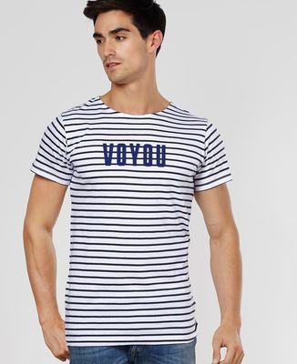 T-Shirt homme Voyou (Effet Velours)