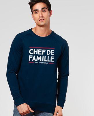 Sweatshirt homme Chef de famille