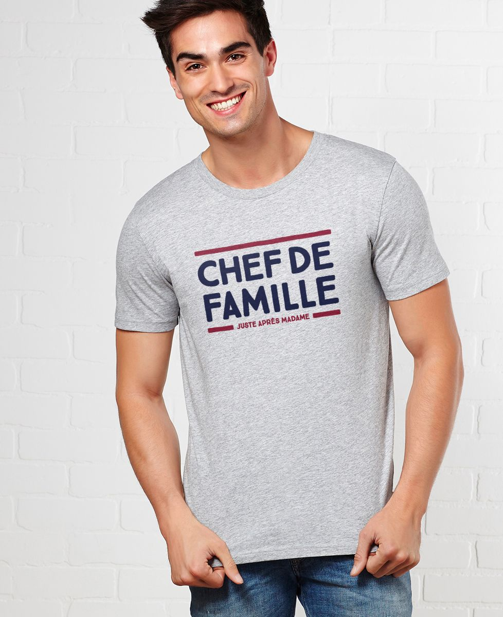 T-Shirt homme Chef de famille