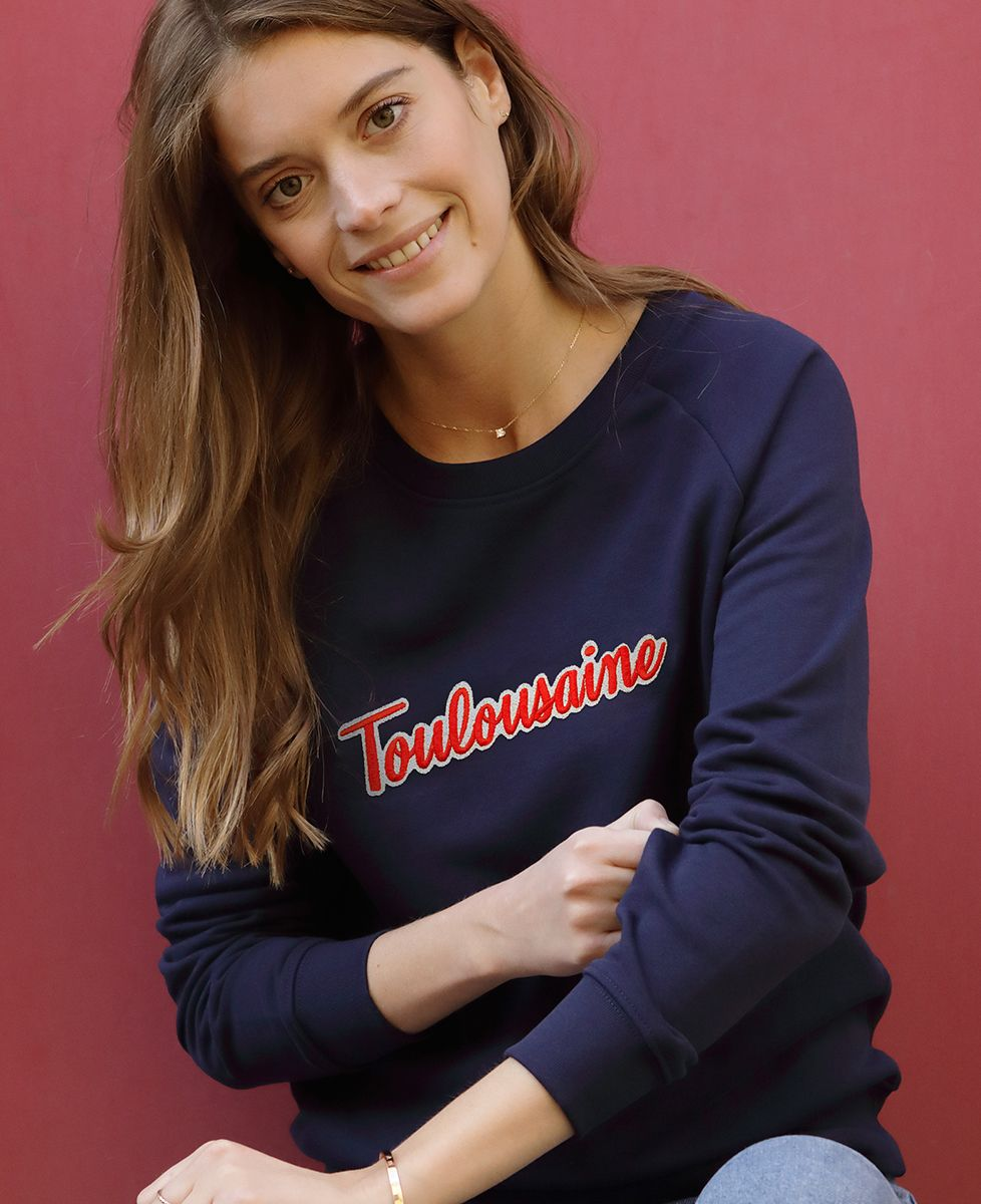 Sweatshirt femme Toulousaine (Broderie)