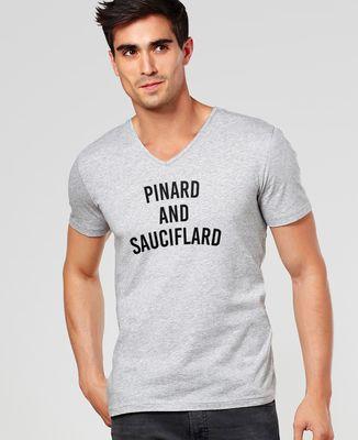 T-Shirt homme Pinard and sauciflard