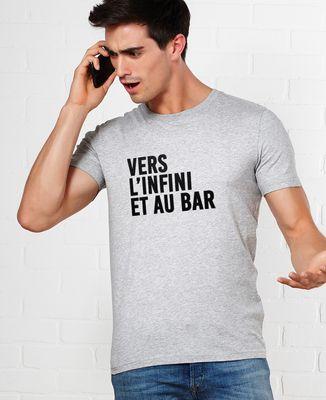 T-Shirt homme Vers l'infini et au bar