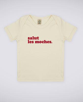 T-Shirt bébé Salut les moches (homme)