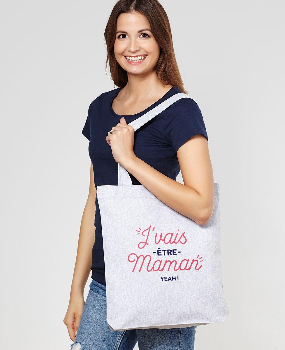 Tote bag J'vais être Maman
