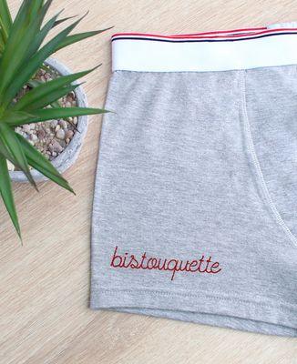 Boxer Bistouquette - brodé