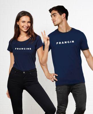T-Shirt femme Frangine (Effet velours)