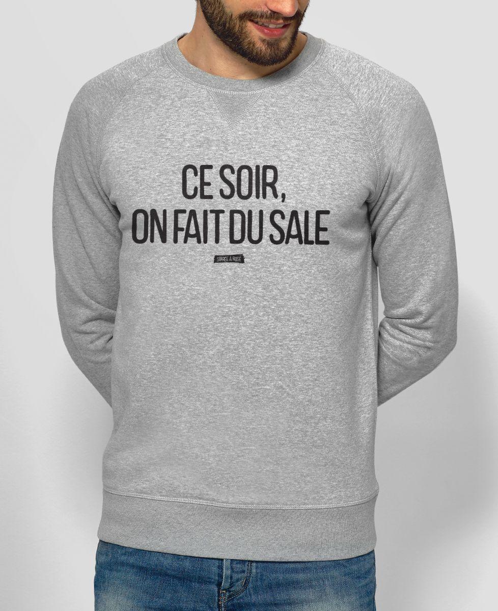 Fait Ce Du Soir Sale Sweatshirt On Homme 3l1KcTFJ