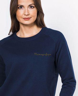Sweatshirt femme Mamagnifique - brodé