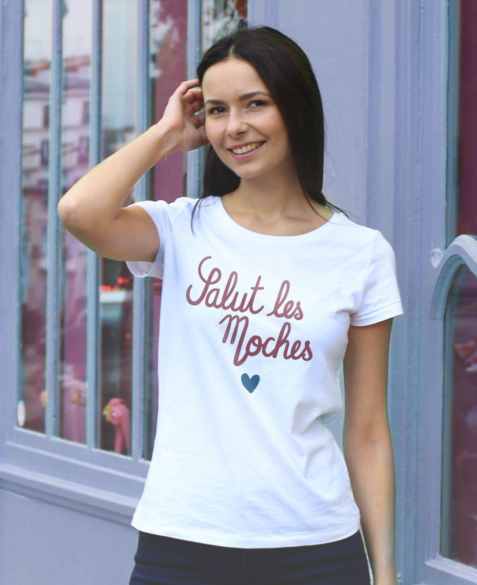 T-Shirt femme Salut les moches coeur