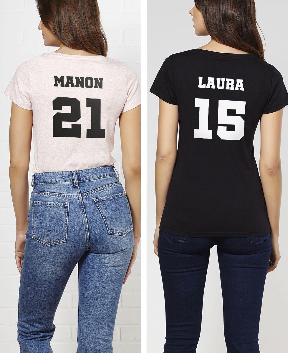 T-Shirt femme Backnumber personnalisé