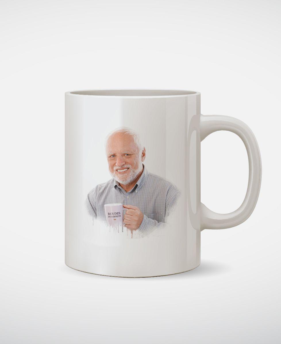 Mug Harold, roi des Internets