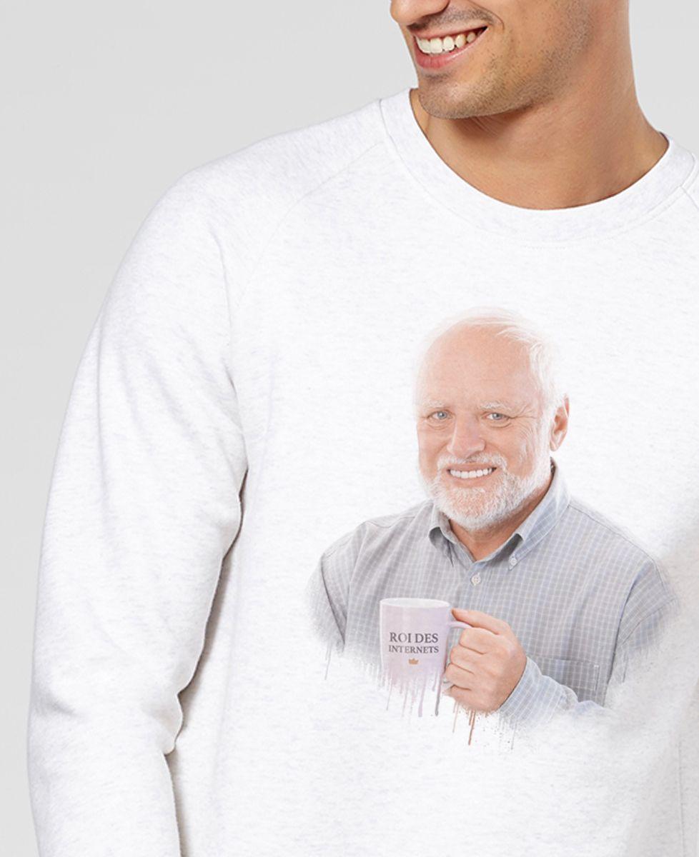 Sweatshirt homme Harold, roi des Internets