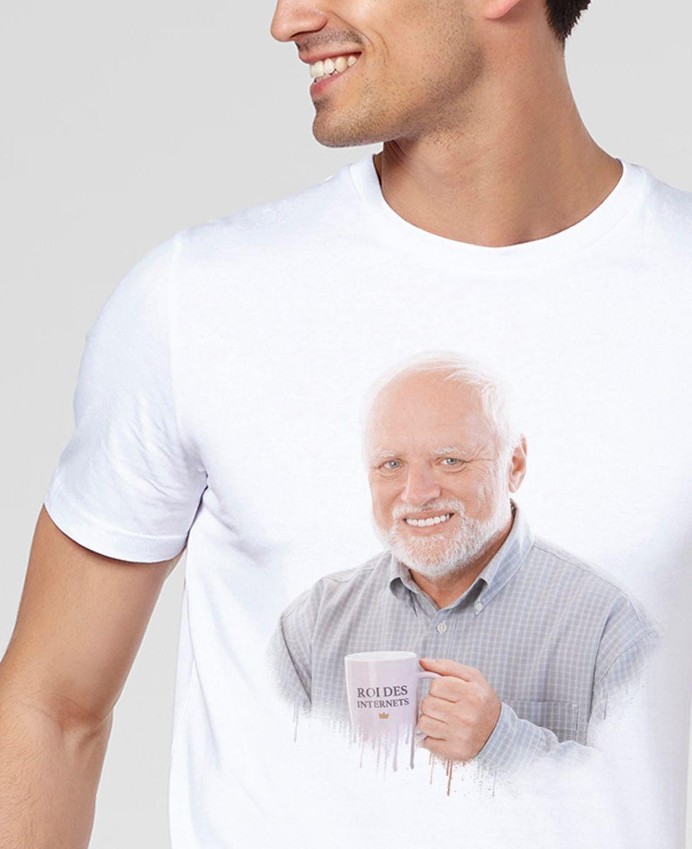 T-Shirt homme Harold, roi des Internets