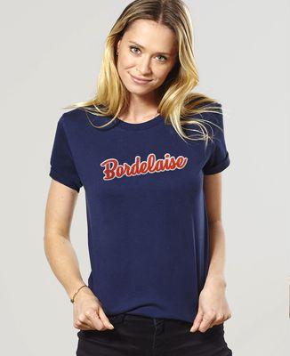 T-Shirt femme Bordelaise (Broderie)