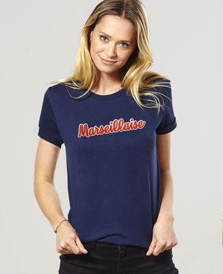 T-Shirt femme Marseillaise (Broderie)