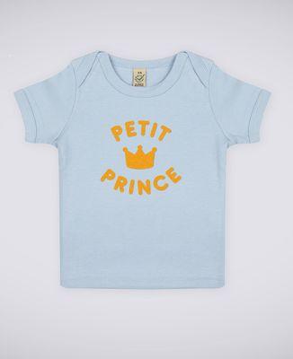 T-Shirt bébé Petit prince - Effet velours