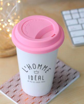 Mug take away L'homme idéal